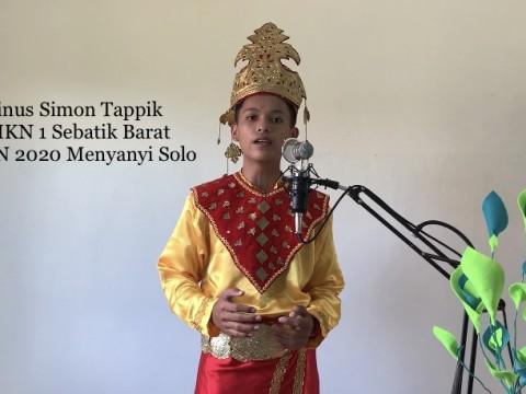 Rinus Simon Tappik - FLS2N Tahun 2020 - Menyanyi Solo